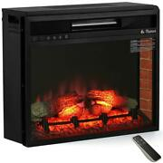 1500-watt In-wall Recessed Electric Fireplace Infrared Space Heater With Remote