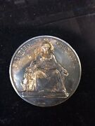 Antique French Solid Silver Horse Show Medal, Special Prize Medal, Very Unique