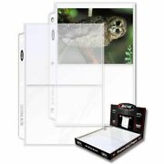 300 Bcw 2-pocket Photo Pages Size - 5 7/16 X 7 1/8