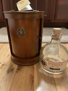 Rare Pyrat Rum Xo Reserve Empty Bottle Tags And Wooden Box Display Case 750ml New
