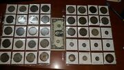 Lot Of 40 Silver Coins