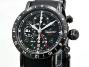 Chronoswiss Menand039s Timemaster Ch7535gbk-rb Chronograph Gmt Black Dial Automatic