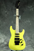 New Fender Made In Japan Limited Edition Hm Strat Maple Frozen Yellow Guitar