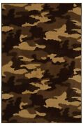 Camouflage Take Cover For Living Room Dining Room Kitchen Bedroom Area Rug