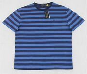 Polo Striped Tshirt Classic Fit Blue Size S And M Nwt