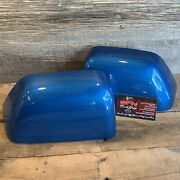 Brand New Oem 17+ Ford Super Duty Painted To Match Mirror Caps - Velocity Blue