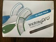 Triodent Dental Impression System - Triotray Proandnbsp 10 Pack - Small New In Box