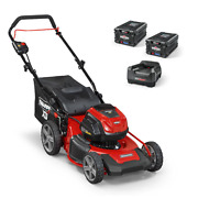 Xd 82-volt Max Cordless Electric 19 In. Lawn Mower Kit With 2 2.0 Batteries An