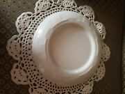 Longaberger Woven Traditions Pottery Ivory Pillar Candle Holderfree Shipping