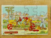 3 Early 1930s Comic Cartoon Picture Puzzles / Madmar Quality Co Jon Bloodgood