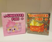 Dumpster Fire Designer Toy 100 Soft Free Shipping.