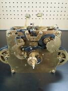 Herschede Grandfather Clock Movement Westminster Chime Chain Drive For Parts