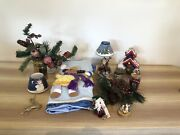 Lot 1 Christmas / Holiday Set 12 Items Vintage Home Interiors Gifts 200 Value