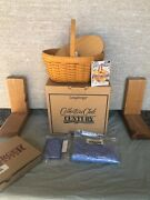56 Original Longaberger 2000s Century Star Collector Club Combo With Lid