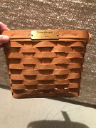 90 Longaberger 1991 Dresden To Her Basket Signed By Jerry