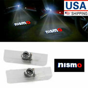 2x For Nissan Altima Quest Led Laser Door Logo Ghost Shadow Projector Lights