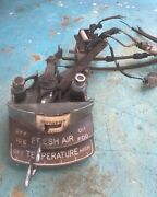 1941 Cadillac Heater And Defroster Climate Control Switch Oem Original, Nice