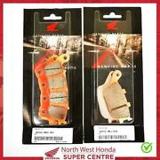 Genuine Honda Brake Pads Front And Rear For Nc700s/x Abs/dual Clutch 2012-2013
