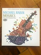 Michael Rabin With Leon Pommers Mosaics - Capitol Reissue New Lp 180g