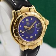 Tag Heuer 6000 Series Wh234 18k Solid Gold Automatic Ladies Watch