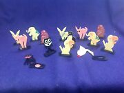Vintage Celluloid Japan 14 Piece Animals Place Card Holders With Felix The Cat