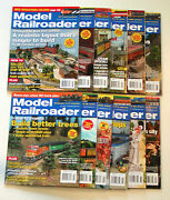 2007 Full Year Model Railroader Magazines 12 Back Issues Hobby Trains Complete