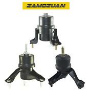 Engine And Trans Mount Set 3pcs. 09-13 For Toyota Highlander For Auto, Sienna 2.7l