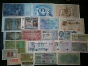 Old Paper Money Lot Germany1908-1923 Empire Wwi Weimar Millions Mark Banknotes