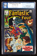 Fantastic Four 94 Marvel 1970 Pgx 9.0 Vf/nm 1st Agatha Harkness After All