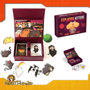 Exploding Kittens Party Pack Game Table In Italian By Asterion For Asmodee