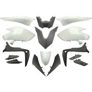 Car Body 15 Fairings White Competition Yamaha 530 T-max 2017-2018