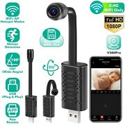Mini 1080p Usb Ip Camera Wifi Security Camcorder Motion Detection App Remote