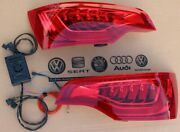Led Facelift Taillights Set Tail Rear Lights For Audi Q7 4l Adapter Plug And Play
