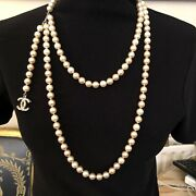 Pearl Double Necklace/ Belt