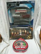 New Angry Birds Limited Edition Pez, Lord Of The Rings Pez, Electric Train