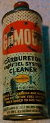 Gumout Steel Can - Carb And Fuel System Cleaner - Empty Pennzoil 1970s - 1980s