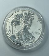 2006 P Reverse Proof Silver Eagle From The 20th Anniversary Set. In Capsule