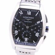 Longines Evidenza Chronograph L2.643.4 Stainless Steel Silver Menand039s Used Watch