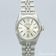 Tudor Princess Oyster Date Ref.7637 4 Ladies Watch Automatic Volume 1972 Silver