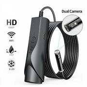 Endoscope Camera Hd Waterproof Wifi Inspection Snake Borescope For Android Ios