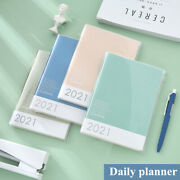 2021 Daily Planners Schedule Diaries Soft Cover School Office Calendar Journal