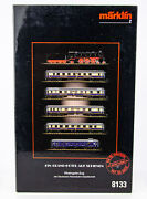 Rare Vintage Marklin Mini-club 8133 German Z Scale Rheingold Express Train Set