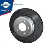 Bmw Front Brake Disc Lightweight Ventilated Drilled High Performance 6775277