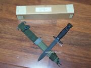 Knife Boc Imperial And Scabbard Pwh Twb Military Combat Usmc Army Vietnam War Nos