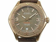 Ebel Discovery Bronze 1216471 Limited To 250 Boxes / Warranty Used Watches