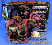 Masters Of The Universe Vintage Snake Mountain Playset With Box 1983