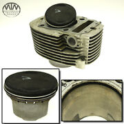 Cylinder And Piston Front Yamaha Xvs1100 Drag Star Classic Package