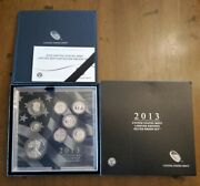 2013 United States Mint Limited Edition 8-coin Silver Proof Set W/ Silver Eagle