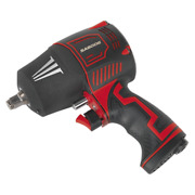 Composite Air Impact Wrench 1/2sq Drive - Twin Hammer Sealey Sa6006