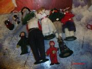 Byers Choice The Carolers Lot The 9 Dferents Models Refer To The Pictures